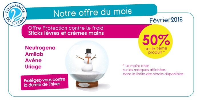 Offre hiver